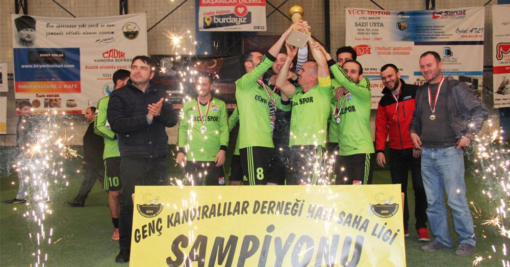 """Ve şampiyon ÇERÇİLİSPOR! """"3-1"""""""