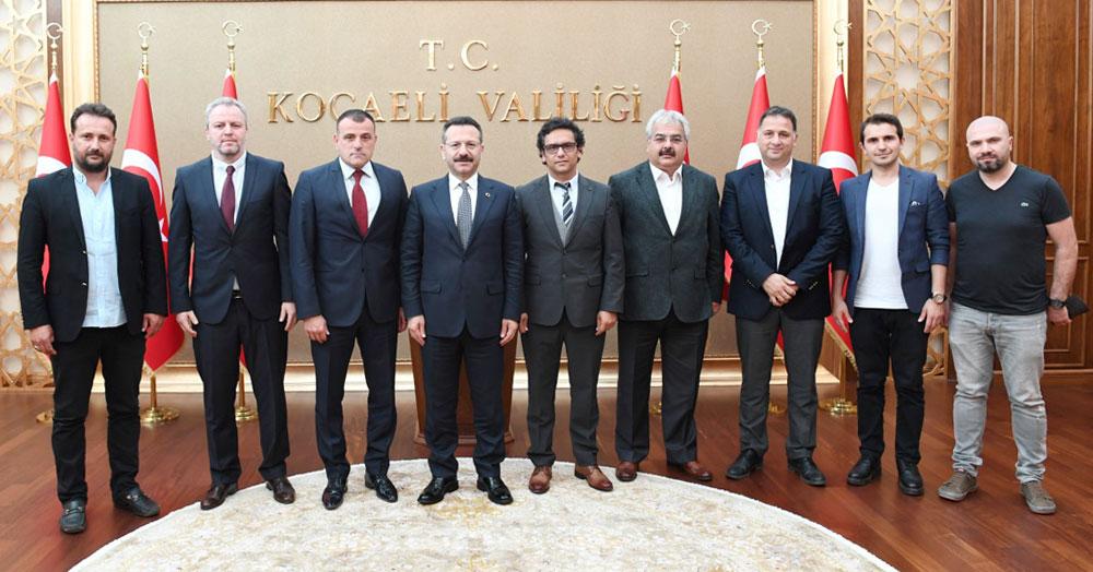 41 FK yeni yönetiminden Vali Aksoy'a ziyaret!