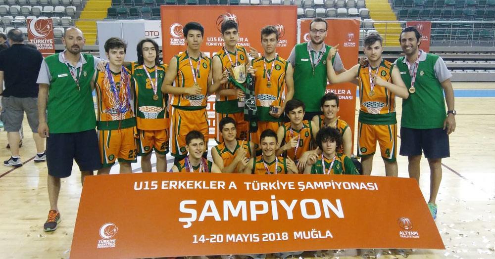 """Kocaeli Basket U-15'ten tarihi başarı! """"81-74"""""""