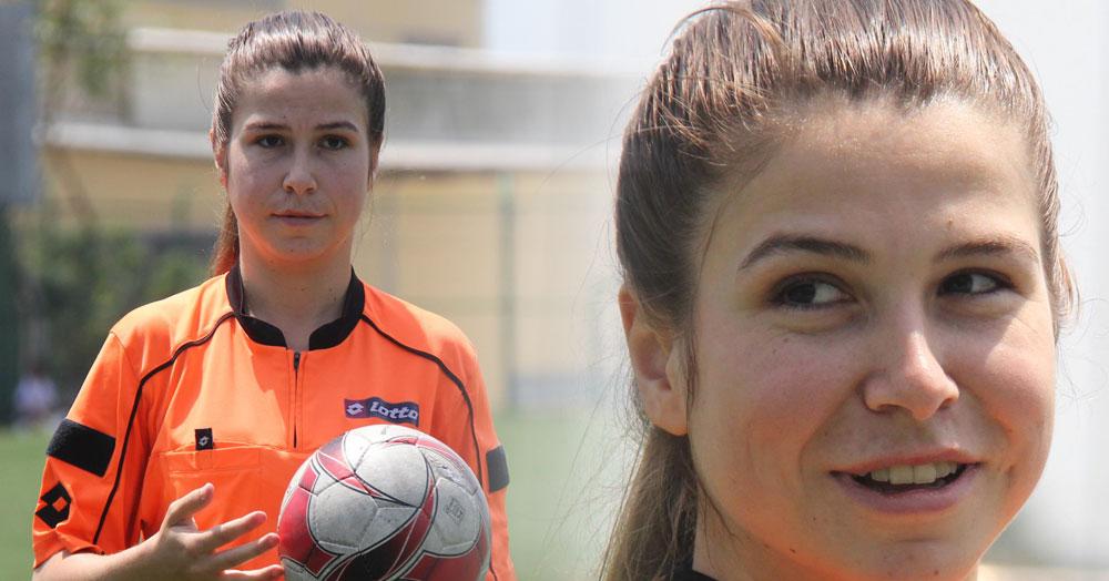 Eski futbolcu Elif Ataol hakem oldu