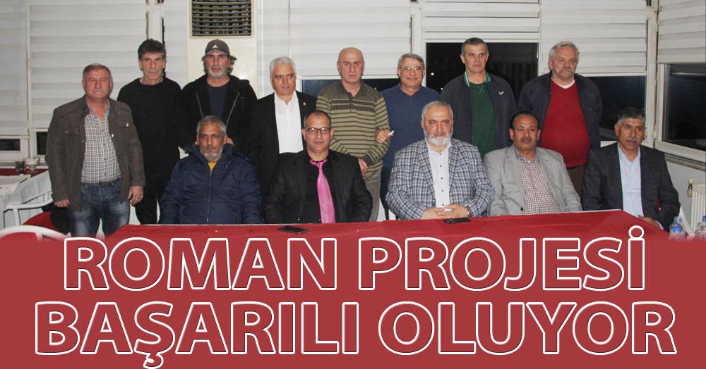 Roman kulüpleri projesi genişliyor