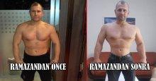 Ramazan, Nazmi Kahveciler'i tığ gibi yaptı!