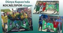 """Dünya Kupası'nda """"Kocaelispor"""" sesleri!"""