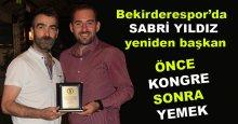 Bekirderespor'da SABRİ YILDIZ yeniden başkan