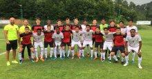 Gölcükspor'un gençleri Umman ile maç yaptı