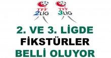 2. ve 3. Lig'de fikstür günü
