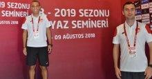 Alper Çetin ve Cem Özbay ilk maçlarına çıkıyor