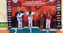 Tuğbanur Biçer Türkiye üçüncüsü oldu
