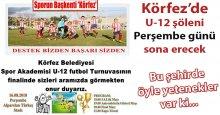 U-12'lerin dev finali PERŞEMBE GÜNÜ