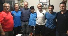 Kocaelispor'dan Güneşspor'a teşekkür ziyareti