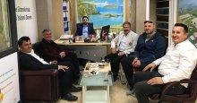 Ahmet Kapçak'a ziyaretçi akını