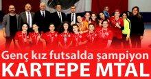 "Futsalda Kartepe MTAL damgası! ""5-2"""