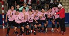 """Futsal erkeklerde şampiyon Körfez MTAL! """"4-0"""""""