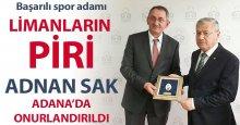 Limanların piri Adnan Sak onurlandırıldı