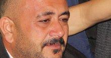 Çetin Özkan gözyaşlarını tutamadı