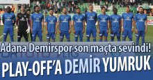 Play-Off DEMİR yumruk!
