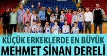 Küçük basketbol en büyük Mehmet Sinan Dereli!