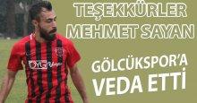 Teşekkürler Mehmet Sayan!