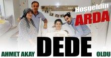 Ahmet Akay dede oldu!
