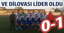 """Dilovası Belediyespor lider oldu! """"0-1"""""""