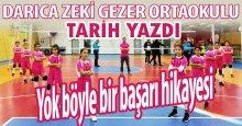 Darıca Zeki Gezer Ortaokulu'na HELAL OLSUN!