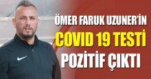 Gölcükspor'da Ömer Faruk Uzuner şoku!