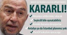 Nihat Özdemir ligleri oynatmaya KARARLI!