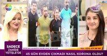 Kadın hakem Sevcan Özkar, Zahide Yetiş'in konuğu oldu