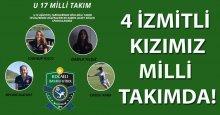 4 İzmitli U-17 Milli takımında!