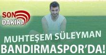 SICAK GELİŞME! Burak Süleyman 1. Lig takımı ile anlaştı!