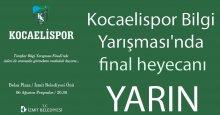 Kocaelispor Bilgi Yarışması'nda final heyecanı!