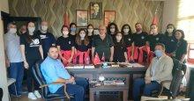 İhsaniyespor'dan Çakır'a ziyaret
