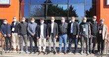 Spor protokolünden Atatürk Kupası yarışmasına yoğun ilgi