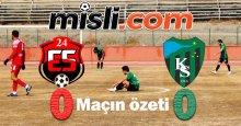 24 Erzincan - Kocaelispor maçının özeti
