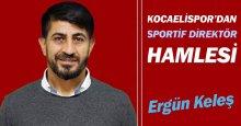 Kocaelispor'dan Sportif Direktör hamlesi