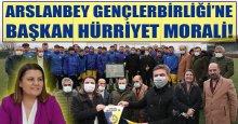 Arslanbey Gençlerbirliği'ne Başkan Hürriyet morali